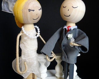 Stylish Cake Topper