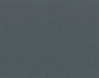 "Gray Solid Fabric - Bella Solids ""Graphite"" by Moda 1/2 Yard"