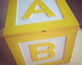alphabet wood baby blocks abc blocks baby shower decoration on etsy