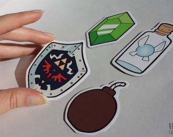 zelda fridge magnets