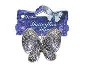 Modern Butterfly Pendants Silver Pendant  Craft Supplies Jewelry Supplies
