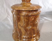Onyx Canister, Covered Jar