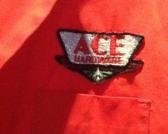 1960 work jacket, Ace hardware
