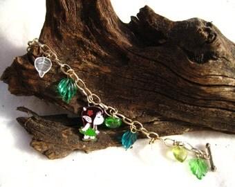 Green Elf Bracelet