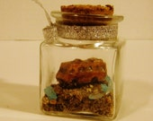 OOAK - Custom Breaking Bad Terrarium RV with Real Prop Blue Sky from New Mexico - TINY #2