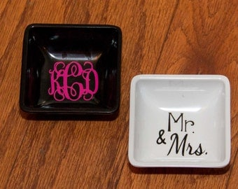 Personalized Ring Dishes
