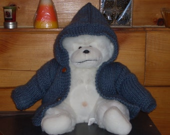 Soft Grey Hoodie - 0 - 3 mnths