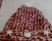 Xmas knitted Hat Girls 8 months to 14  Sale!!!!!  2.00