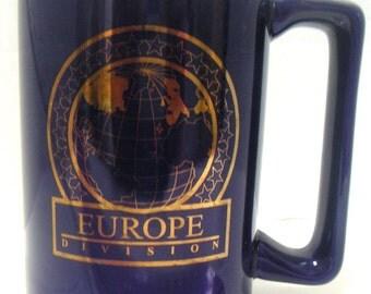 Vintage Mug,Europe Division,Military,Keepsake,Coffee Mug,Mug Collectors