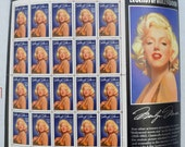 US Postage Stamps 1995 Marilyn Monroe Mint not used sheet of 20