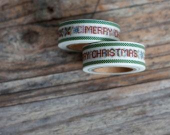 Merry Christmas Masking Tape