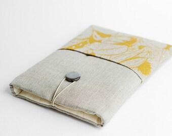 Macbook 11 inch sleeve. 11 inch Macbook case, modern, flowers, with pocket