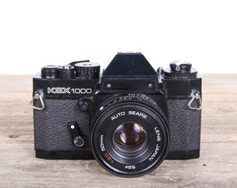 Vintage Sears KSX 1000 Camera / 35mm SLR camera / Student Camera / Vintage Slr Sears Camera / Antique Camera / Old Film Camera
