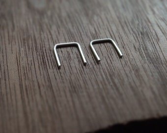 Very Simple Earrings Minimalist Minimal Jewelry