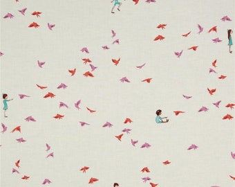 With The Birds Pink from Michael Miller