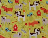 Dogs, Bones, Treats - 1 piece both measuring 19 x 42
