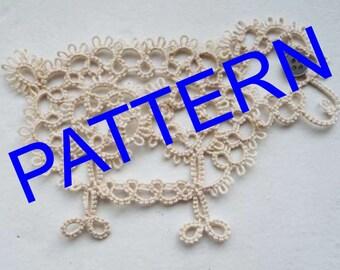 Tatting Sheep pattern - PDF pattern- Tatting pattern- PDF pattern - download pattern - download pdf - OOAK - tutorial download - sheep art