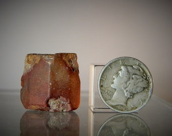 Loose Topaz Single Crystal Lapidary Rough 46.20 carat Mexican Clear Topaz Terminated Crystal Piece Natural Facets DanPickedMinerals