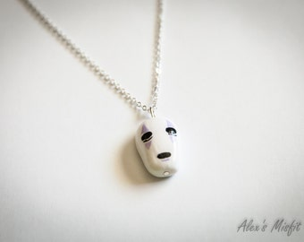 Spirited Away No Face Mask Necklace