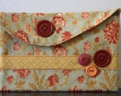 Coral PInk Blossoms Mini Bag