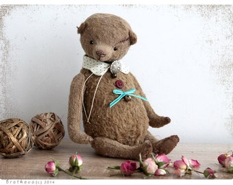 Artist Teddy bear Corry 6 inch 21 cm