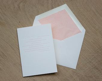 I love You Pablo Neruda Letterpress Greetings Card
