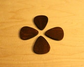 Handcrafted Wooden Guitar Pick Magnets