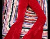 velvet bell bottom flares festival hippy boho pants hippy pants