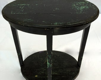 Vintage shabby chic side table