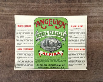 Vintage labels - Set of 2