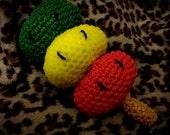 Rubber Band Crochet Rasta Dango