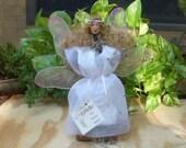 Gabrielle The Faerie Queen LG Moss Doll Clay Head