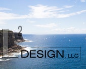 Canvas Photography - Sydney Harbor National Park Cliffs, Original image, Gallery wrapped.