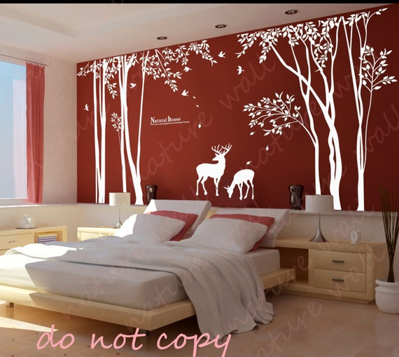 Decorative Wall Stickers forest decals room decor wall stickers kids wall decals baby