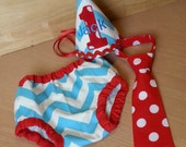 boy aqua and red cake smash and birthday outfit, aqua chevron red odts birthday outfit