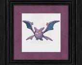 169 Crobat Pokémon Cross Stitch Pattern - Instant PDF Download