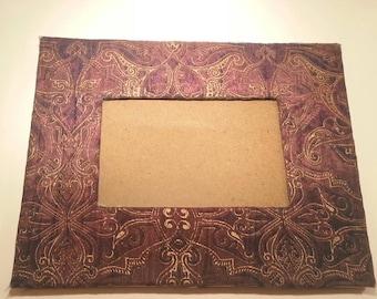 Lace On Velvet Wall Frame