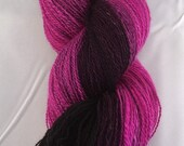 The Dying Rose - gradient lace yarn