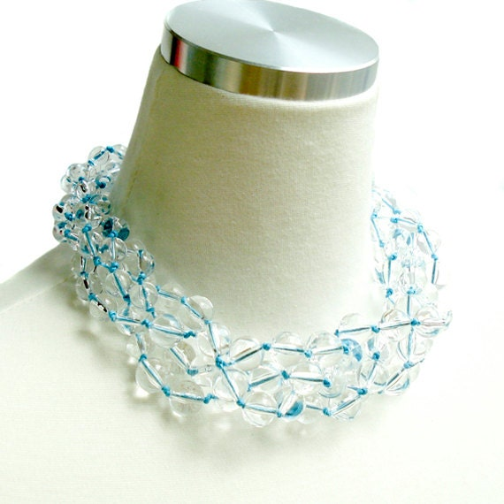 Clearly Crystal Delicious Necklace - Blue