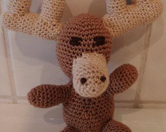Moose PDF pattern crochet amigurumi
