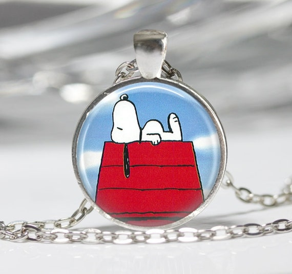 snoopy necklace the peanuts jewelry