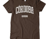 Women's Cordoba Spain T-shirt - S M L XL 2x - Ladies Cordoba Tee - España - 4 Colors