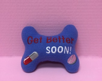 Dog Bone Toy Get Better Soon