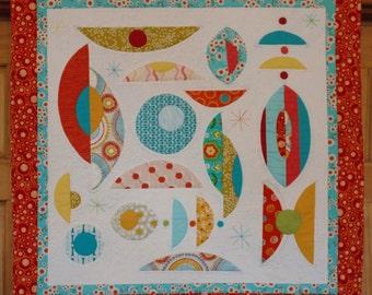 Atomic Art Mid-Century Modern Quilt