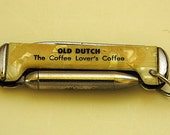 Reduced Vintage Adv IMPERIAL Pocket Knife Watch Fob 2nd Blade - BALL POINT Pen  Promo 'Old Dutch' Coffee; Imperial Prov R I Free Shipping