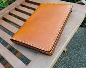 """Marianna's Listing Leather Refillable Journal Cover for Moleskine - Handmade in the USA """"The Franklin"""""""
