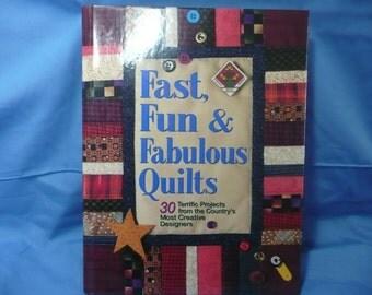 Fast, Fun & Fabulous Quilts Book Quilt Patterns Quilt Designs Quilt Making Book1