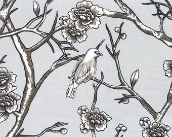 Fabric for Roman Shade or Panel Window Treatment | Dwell Studio Vintage Blossom