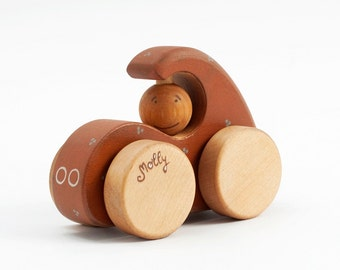Personalized Wooden Toy Car, Wood Vehicle, Kids Toy, Baby Toy
