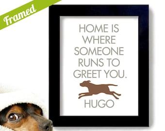 Labrador Retriever Lab Art Print Personalized Love Dogs
